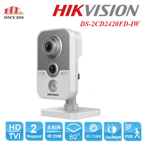CAMERA IP WIFI HIKVISION DS-2CD2420FD-IW