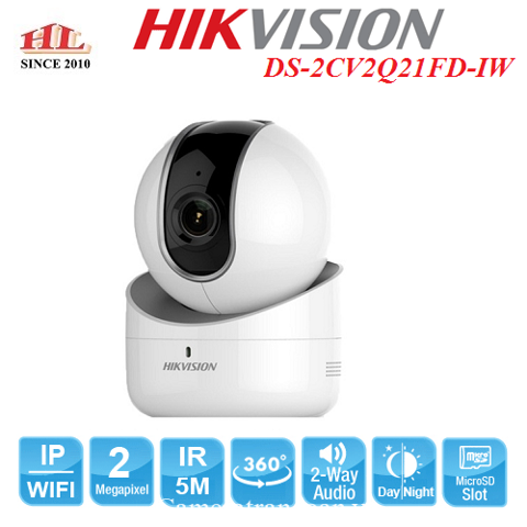 CAMERA IP ROBOT 2MP DS-2CV2Q21FD-IW