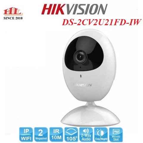 CAMERA IP CUBE WIFI 2MP DS-2CV2U21FD-IW
