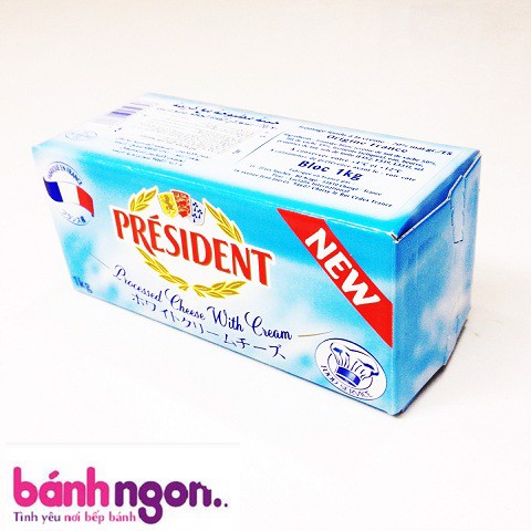 Phô Mai Cream Cheese President 1kg