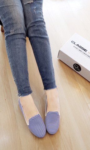 GIÀY BÚP BÊ LOAFER CANDY BLUE  CLO3015BL