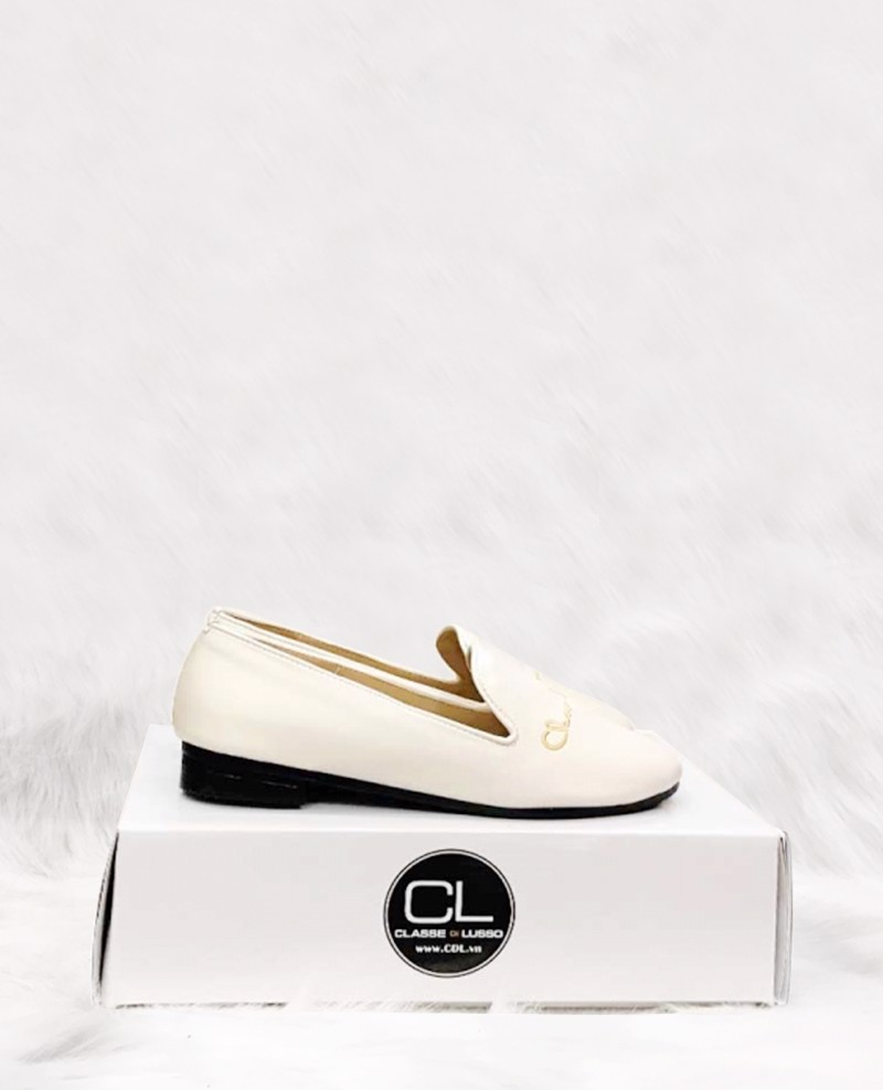 LOAFER SIGN WHITE CLO3008W