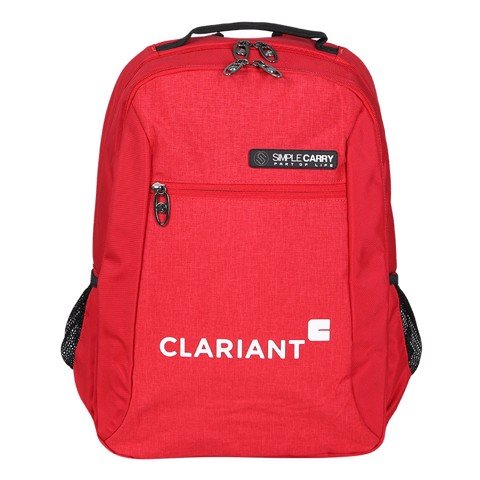 Backpack B2B04 D.RED CLARIANT