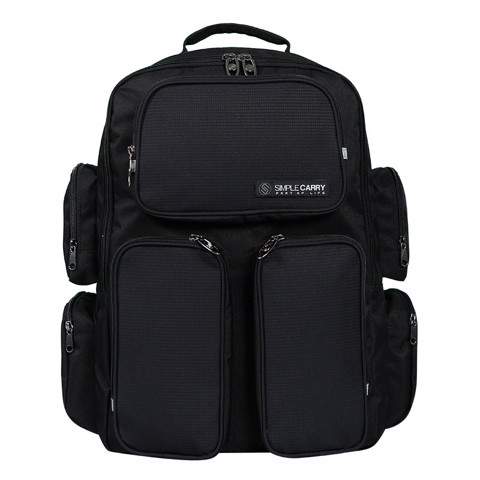Backpack R - CITY BLACK