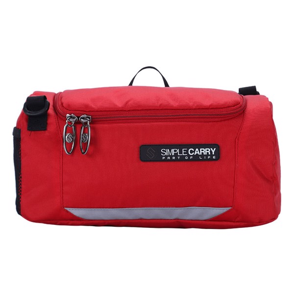 TÚI CREDO CITY POUCH RED