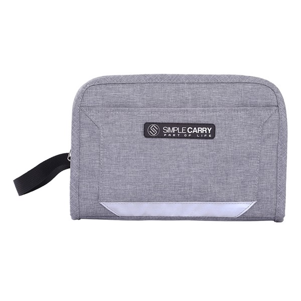 TÚI GOLF POUCH GREY