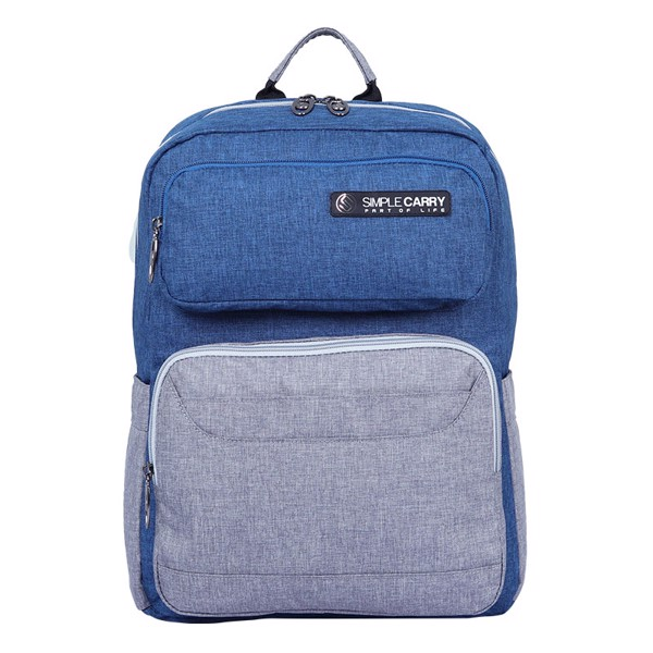 Backpack ISSAC1 L.NAVY/GREY