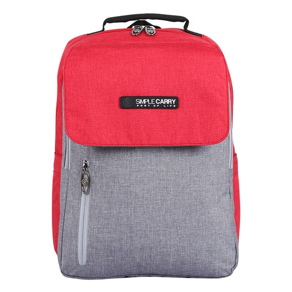 Backpack ISSAC2 RED/GREY