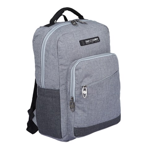 Backpack ISSAC3 GREY/D.GREY
