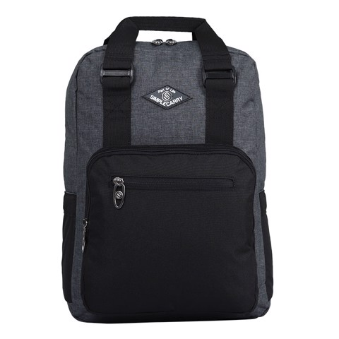 Backpack ISSAC4 D.GREY/ BLACK