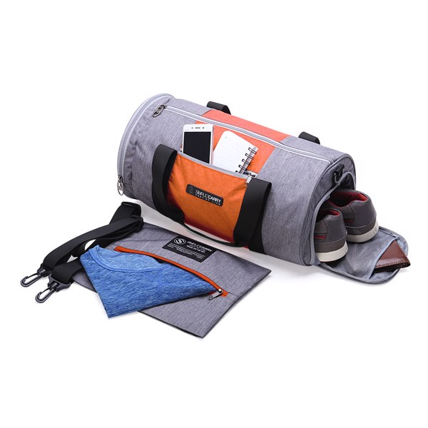 TÚI ĐEO GYMBAG GREY/ ORANGE