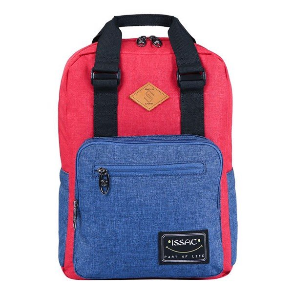 Backpack ISSAC4 RED/ NAVY