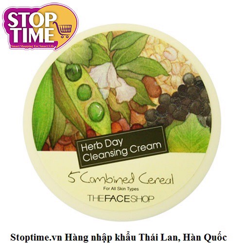 TFS Tẩy trang Herb Day Cleansing Cream