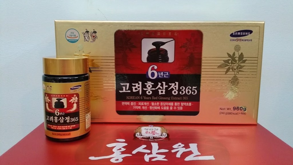 Cao hồng sâm RED GINSENG EXTRACT 365