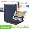 Bàn phím bao da Bluetooth cho Ipad Air/ Air 2/ Pro 9.7/ New Ipad 2018 BOW T201
