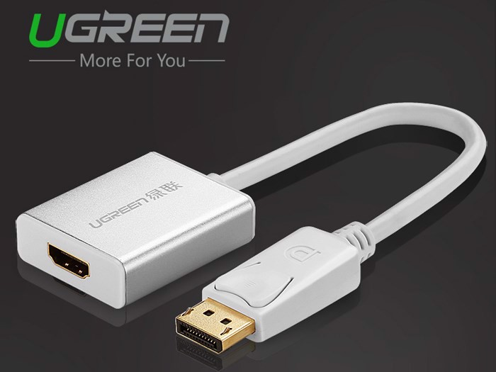 Cáp Displayport to HDMI Female 20cm Ugreen 20411