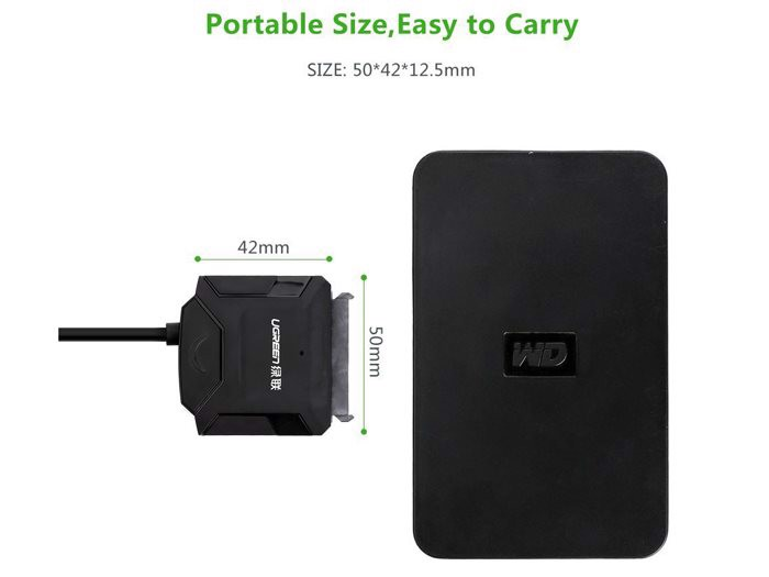 Cáp USB 3.0 to SATA HDD, SSD 3.5