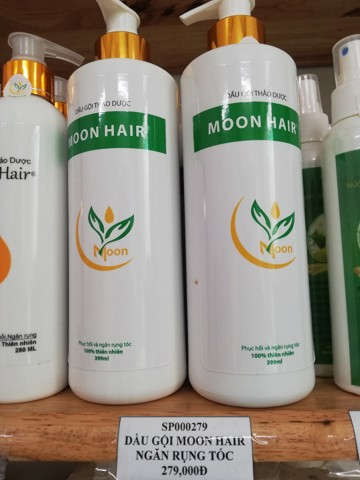 Dầu gội Moon Hair 400ml