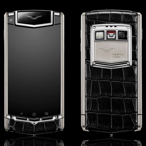 Vertu Ti Black Alligator