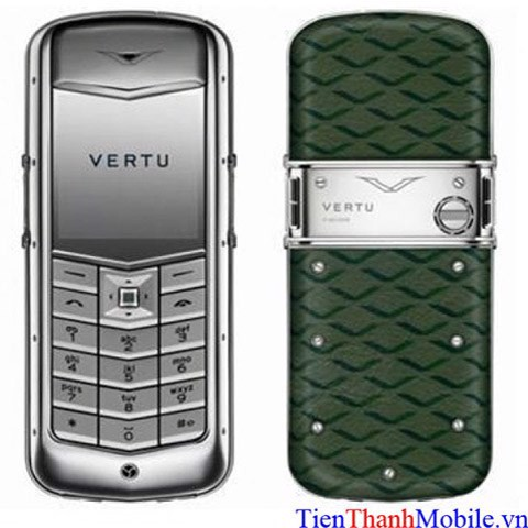 Vertu Constellation Green Monogram