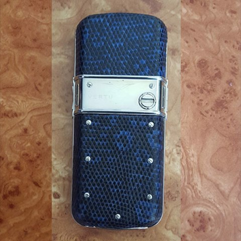 Vertu Constellation Blue Lizard