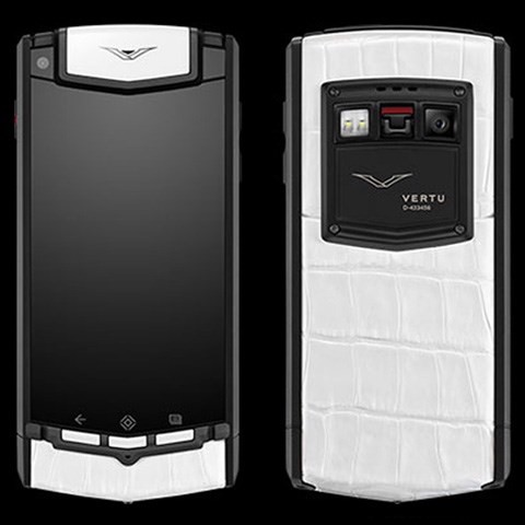 Vertu Ti Black and White