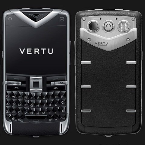 Vertu Quest Black Ceramic Keys