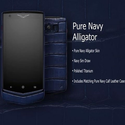 Vertu Constellation V Pure Navi Alligator