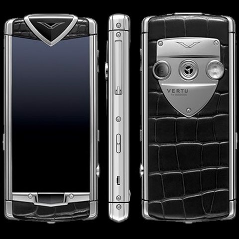 Vertu Touch Black Alligator