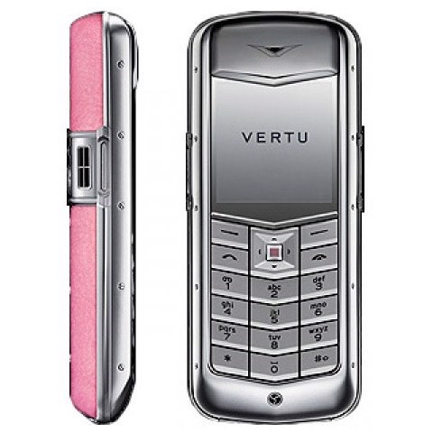 Vertu Constellation Pink Leather