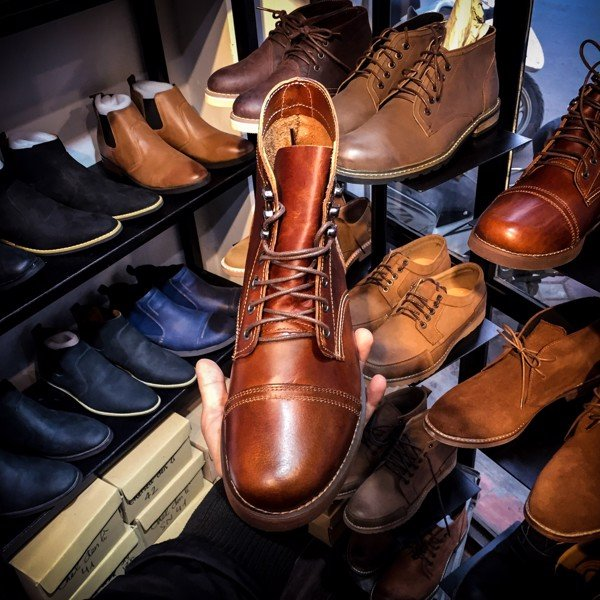 Red Wing, Red Wing Hà nội, Bốt cao cổ, giày da cao cổ, bốt nam, Giày da Hà Nội, Giày cổ lửng, Iron Ranger, Red Wing Hà Nội