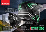 LS2 FF324 Metro Orion Matt Black