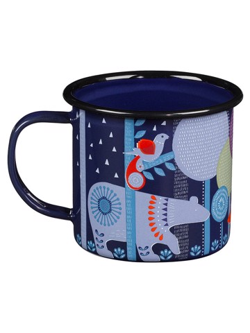 Night Enamel Mug