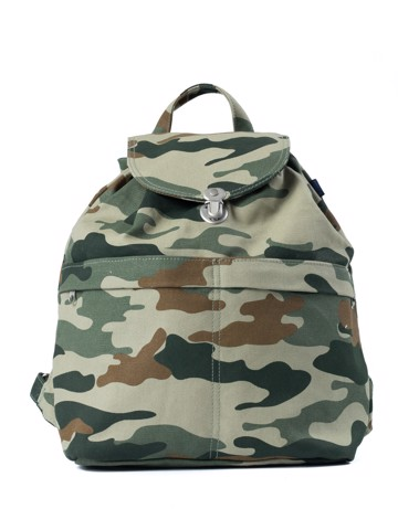 Baggu Canvas Backpack In Camouflage