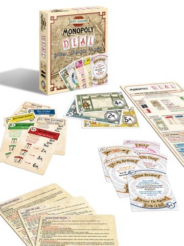 1880 Saigon Monopoly Deal card game