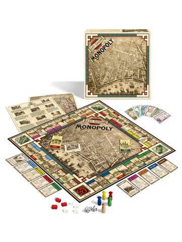 1880 Saigon Monopoly English Game
