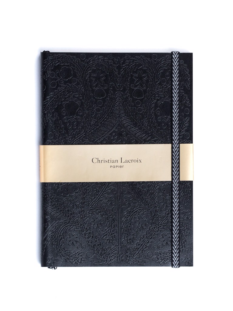 Christian Lacroix Embossed Notebook