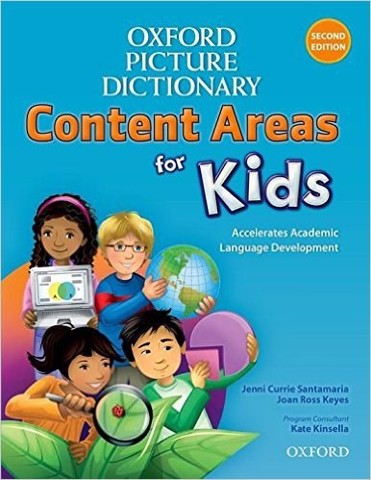Oxford Picture Dictionary Content Areas for Kids (2 Ed.) : English Dictionary