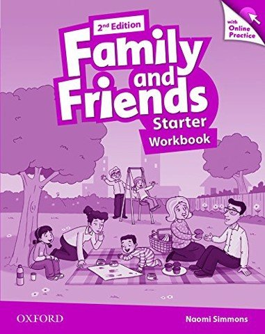 Family & Friends (2 Ed.) Starter: Workbook & Online Practice Pack