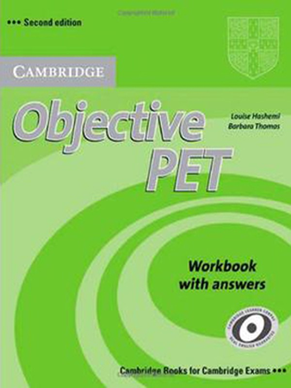 Objective PET: Work Book (2 Ed.) Fahasa