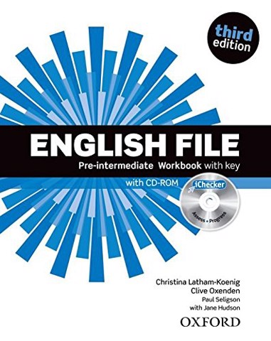 English File (3 Ed.) Pre-Inter: Workbook with iChecker with Answer Booklet