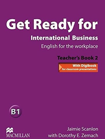 Get Ready for International Business 2: Teacher Book with TOEIC Pack
