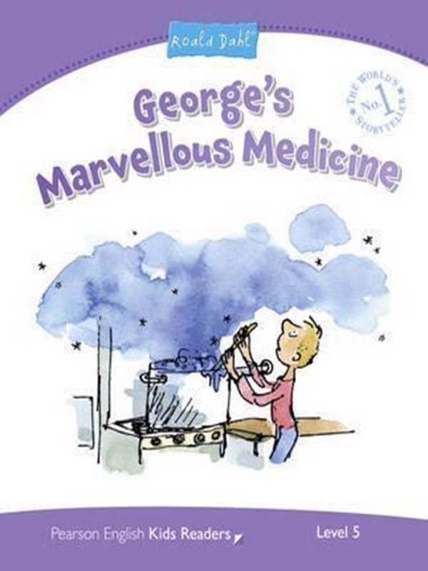 George's Marvellous Medicine: Level 5 (Pearson English Kids Readers)