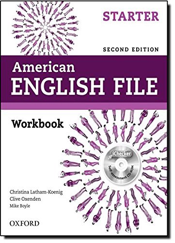 American English File (2 Ed.) Starter: Workbook and iChecker