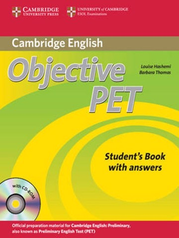 Objective PET (2 Ed.) Student Book with Key with CD-ROM
