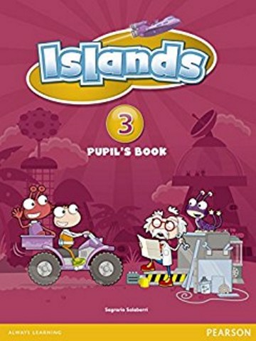 Islands Pupil Book with pin code 3