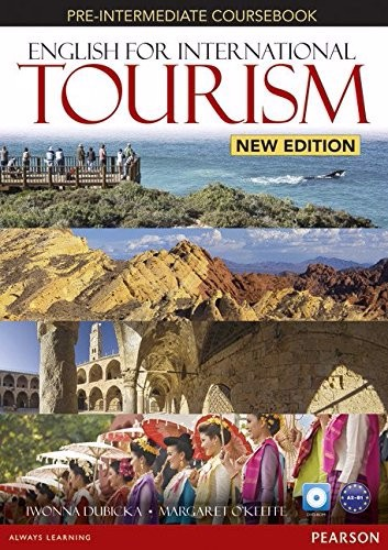 English for International Tourism (2 Ed.) Pre-Inter: Course book with DVD-ROM
