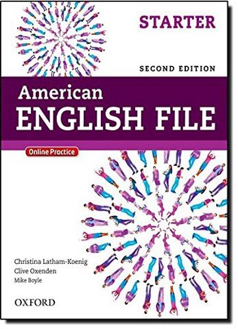American English File (2 Ed.) Starter: Student Book with Oxford Online Skills Program