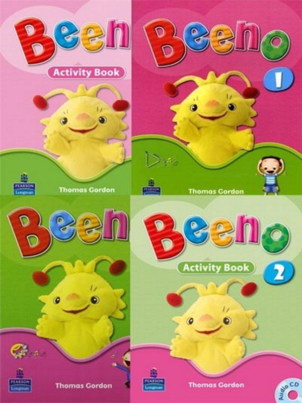 Beeno Student age 1: Student Book 1 & 2 with Activity Book 1&2