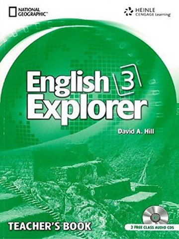 English Explorer 3: Teacher Book with Class Audio CD